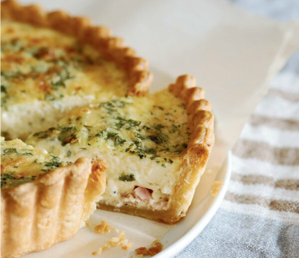 Rosie Daykin's Best and Basic Quiche