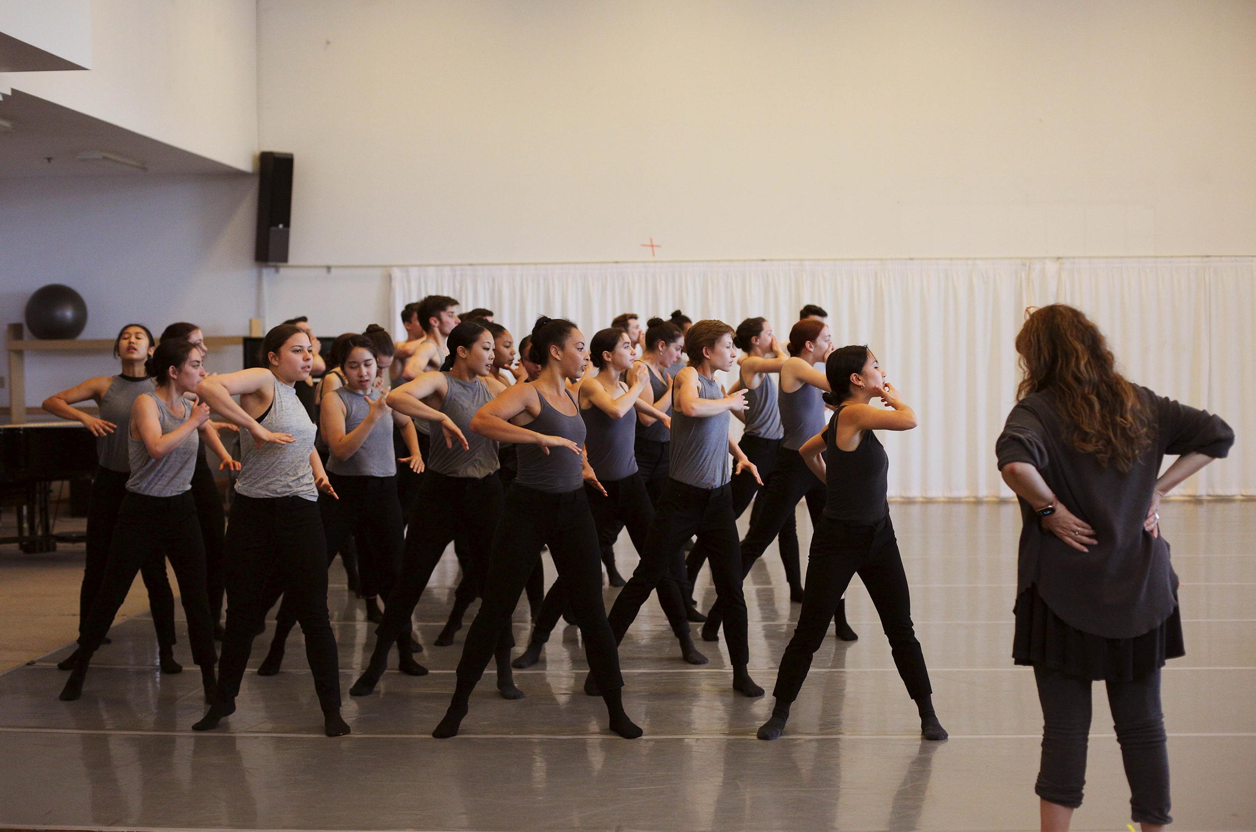 Dance Umbrella Artistic Director Artemis Gordon