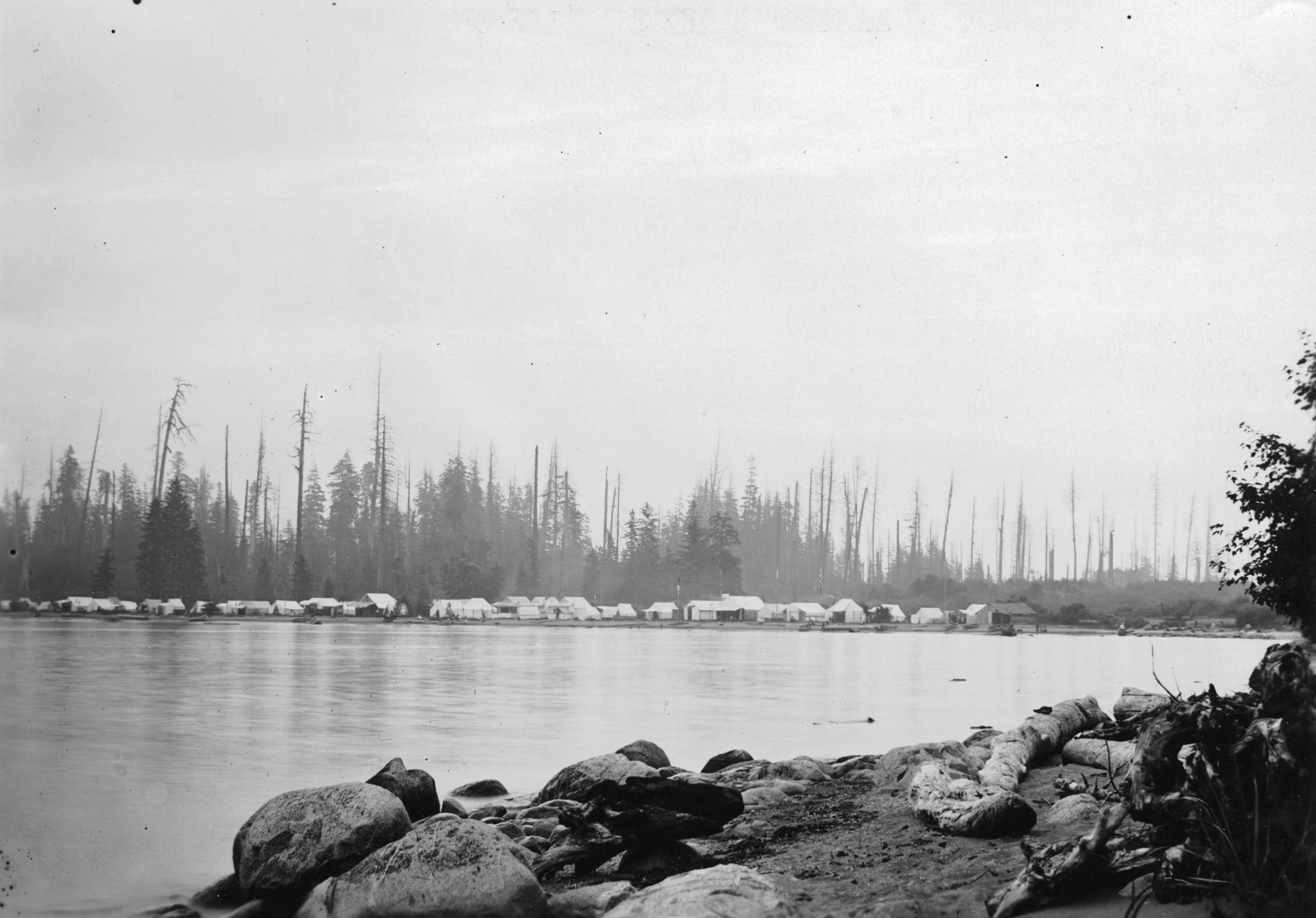 Kits Beach, 1904. City of Vancouver Archives.