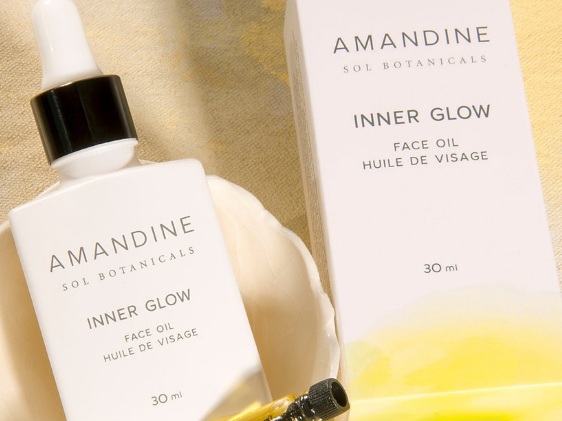 Amandine Sol Botanicals Inner Glow Face Oil