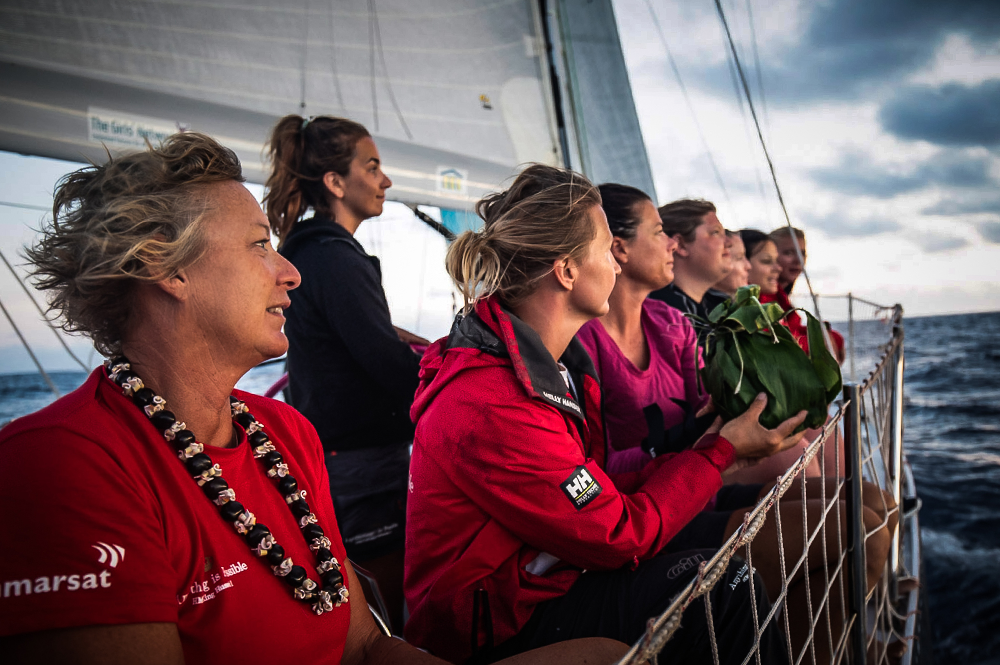 Maiden racing sailboat female crew