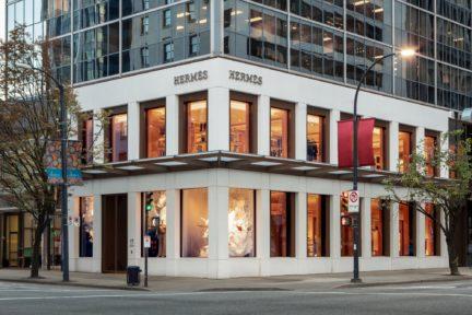 Hermes Vancouver Burrard Building