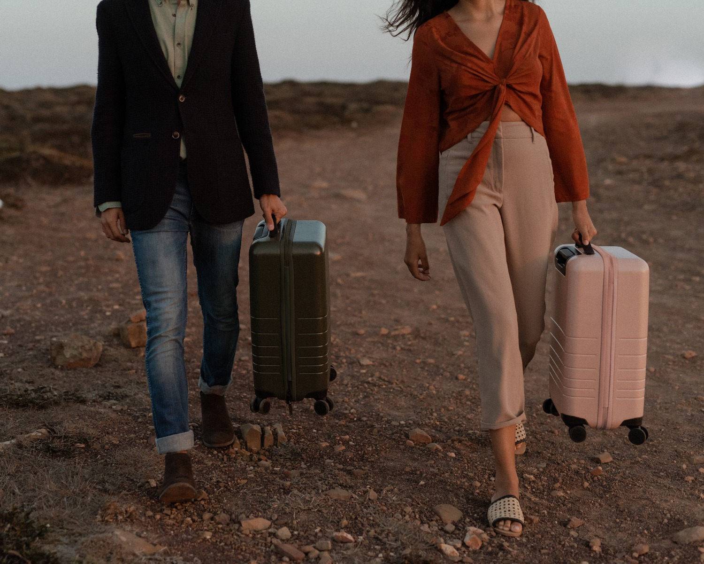 Monos suitcases