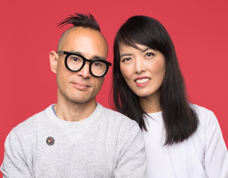 Poketo Ted Vadakan and Angie Myung