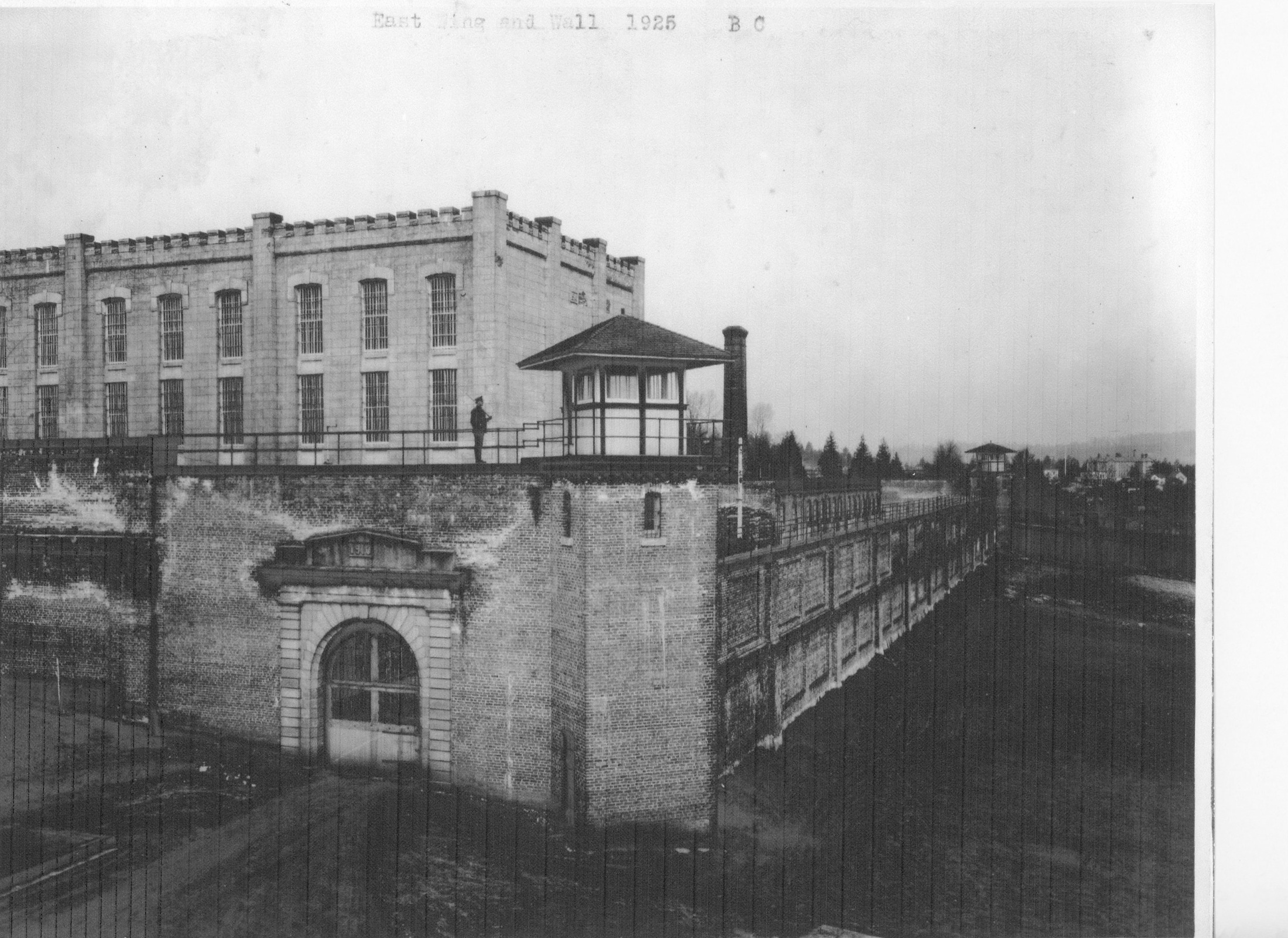 B.C. Penitentiary East Wing and Wall