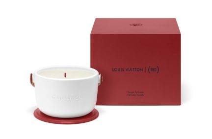Louis Vuitton I (RED) Candle