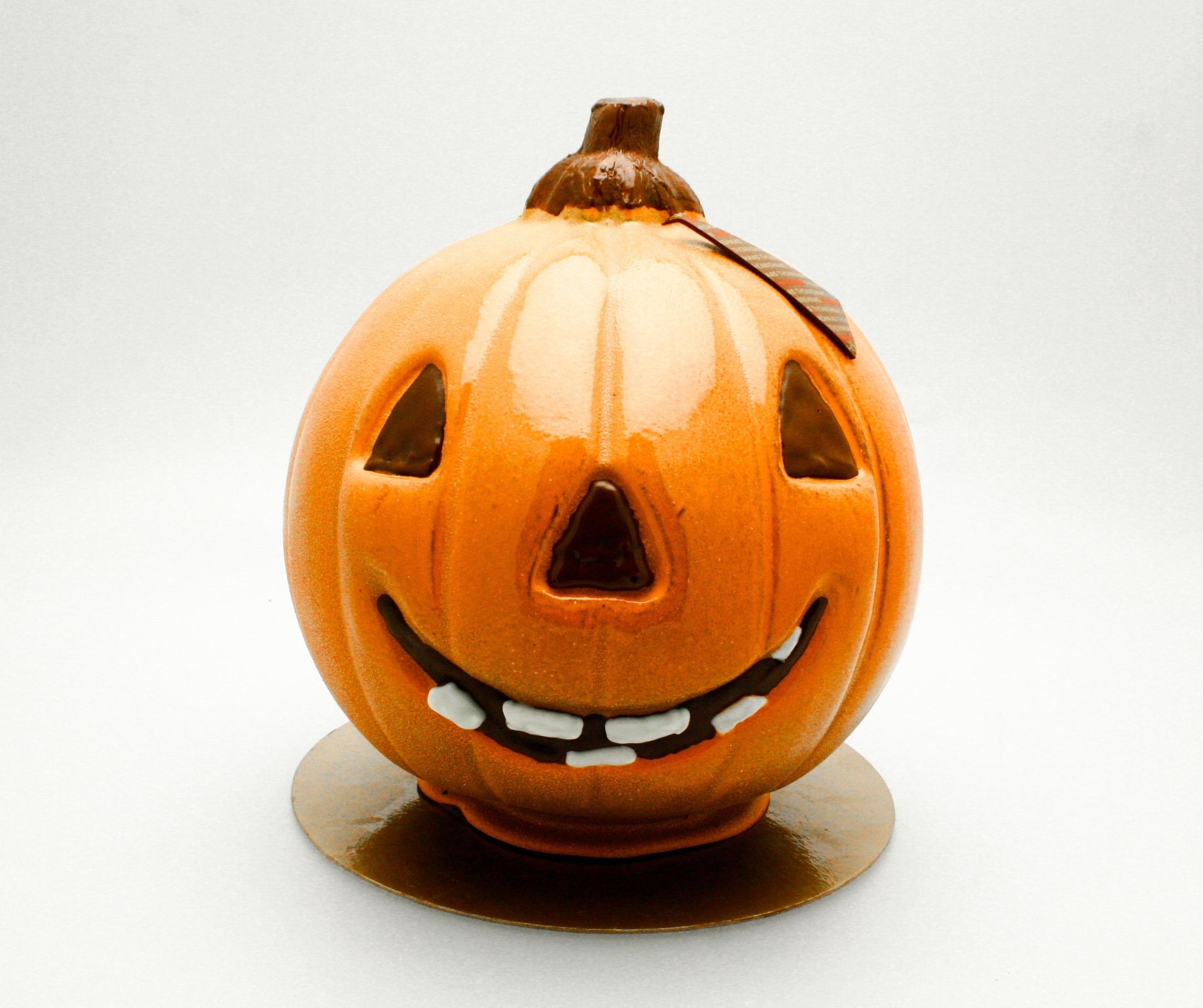 Thomas Haas Chocolates Halloween Pumpkin