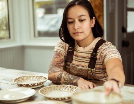 Coral Patola Ceramic Artist