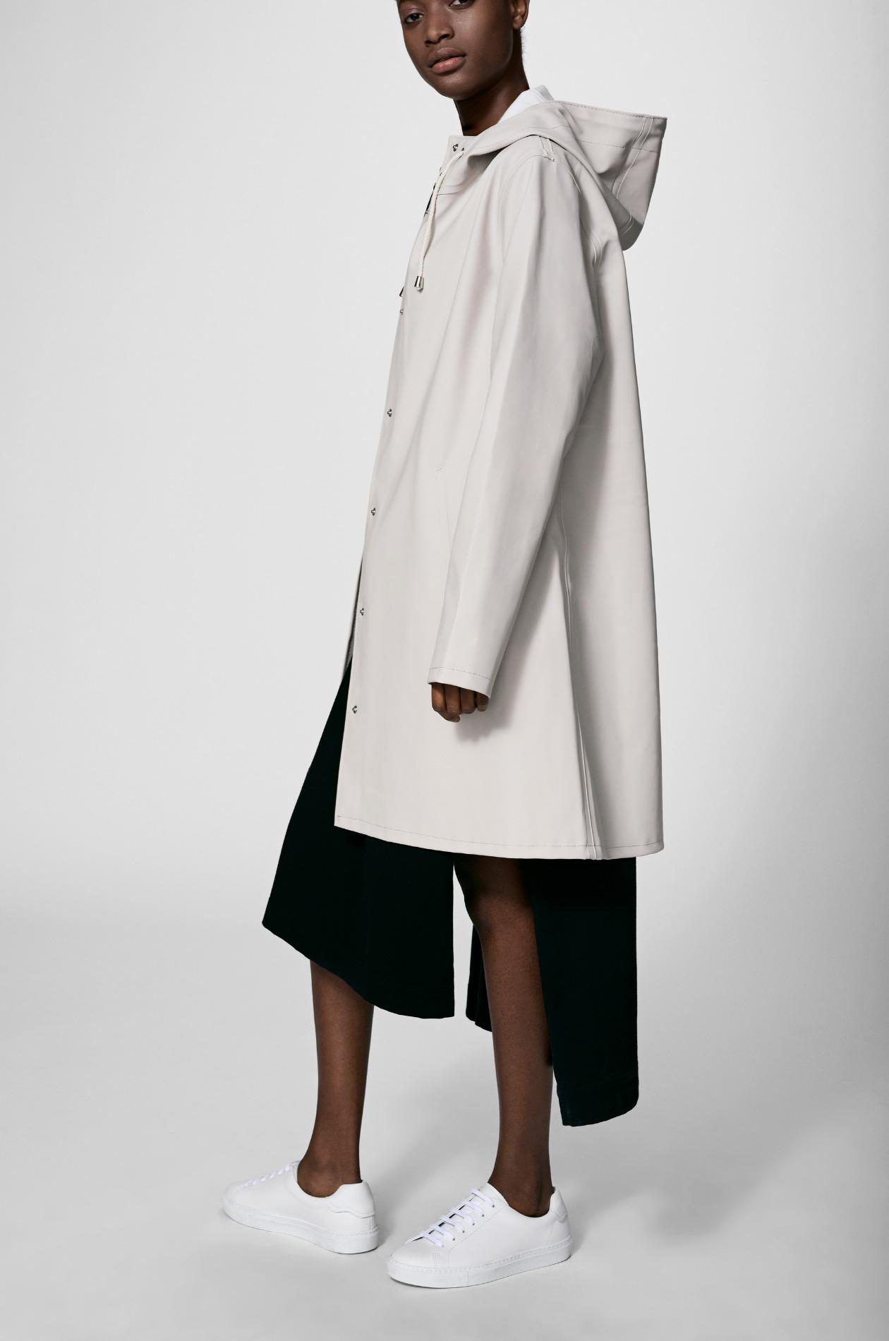 Mosebacke Light Sand Raincoat