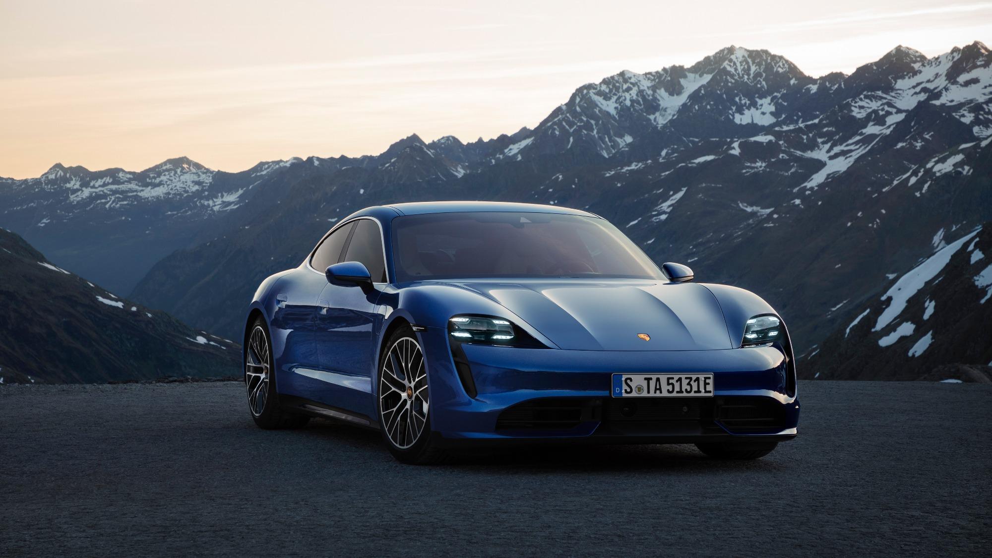 Porsche Taycan Turbo 2019