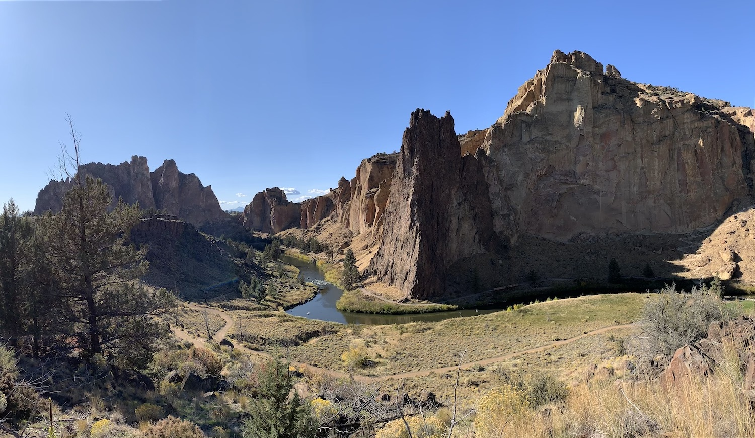 Smith Rock State Park.