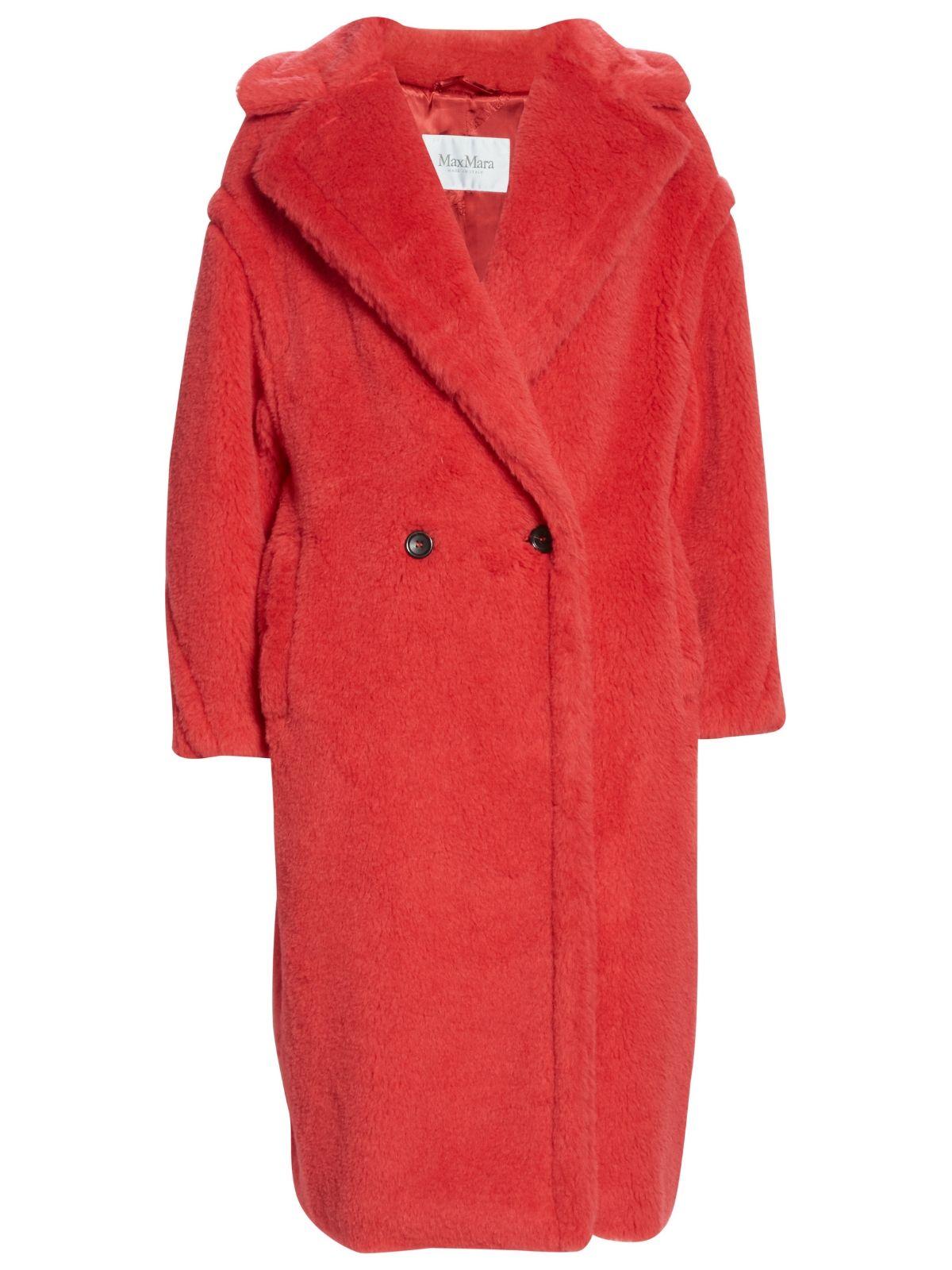 Max Mara Tedgirl Faux-Fur Teddy Bear coat