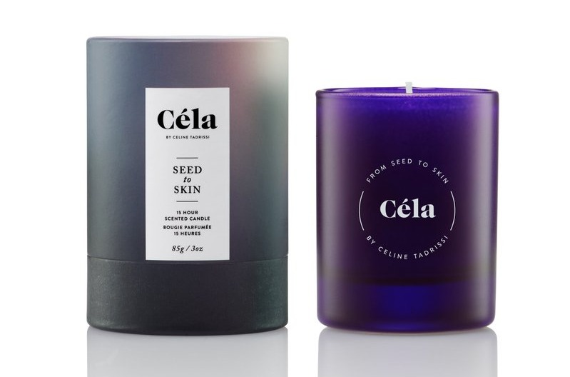 Cela seed to skin candle