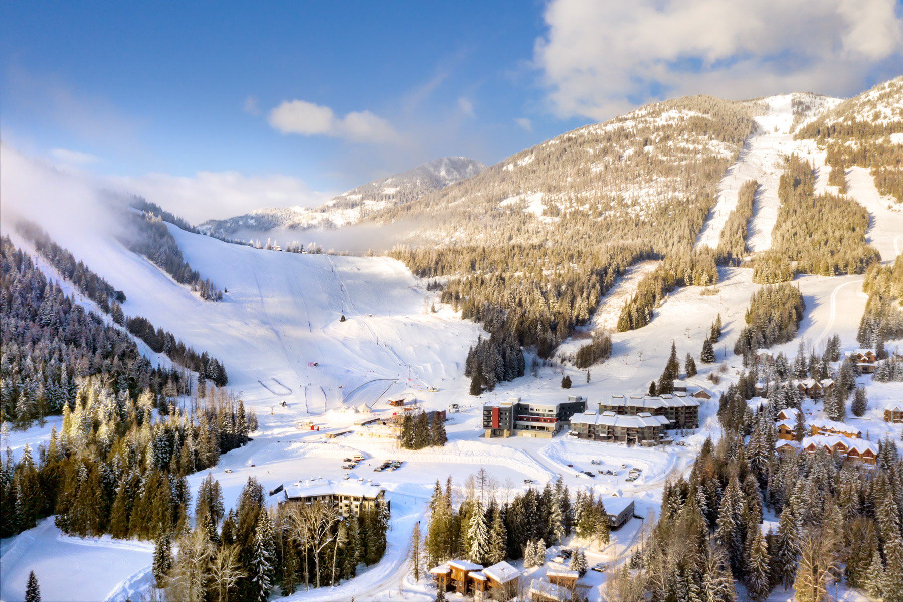 The Josie Hotel sits at the bottom of Red Mountain Resort. Courtesy of the Josie Hotel.