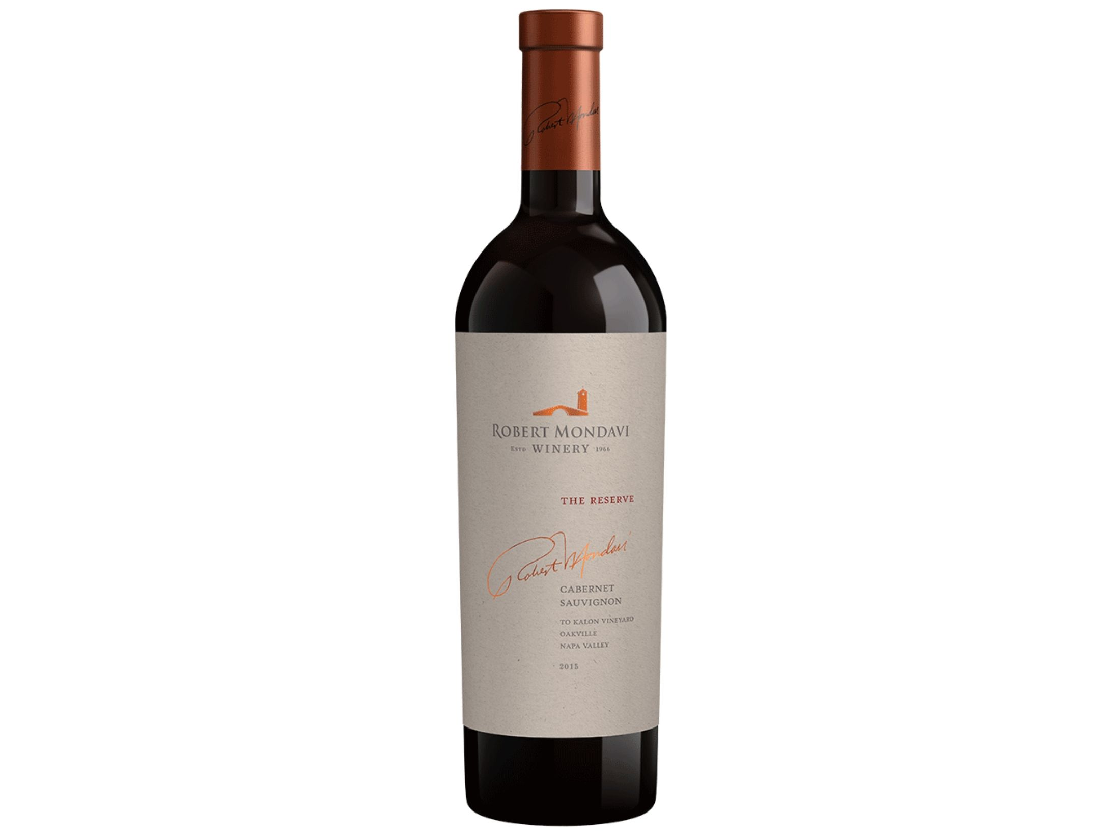 2015 Robert Mondavi Reserve To Kalon Vineyard cabernet sauvignon
