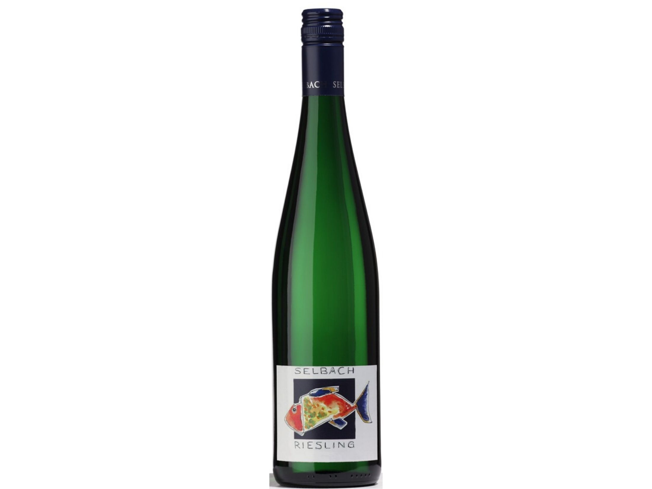 Selbach's Mosel Riesling Fish Label