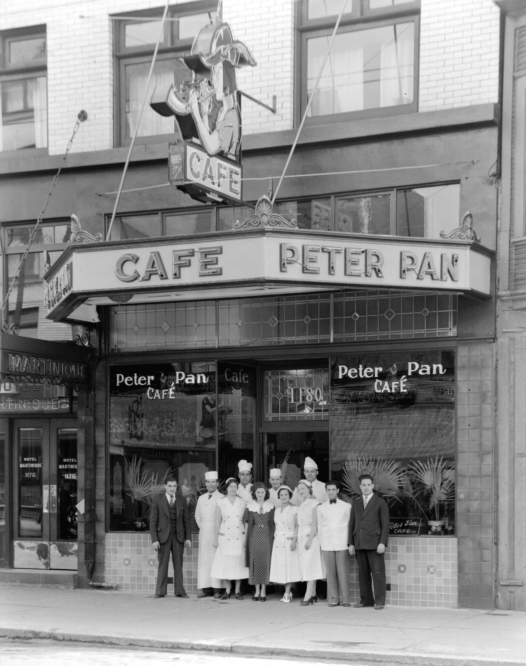 Peter Pantages Cafe Peter Pan Vancouver