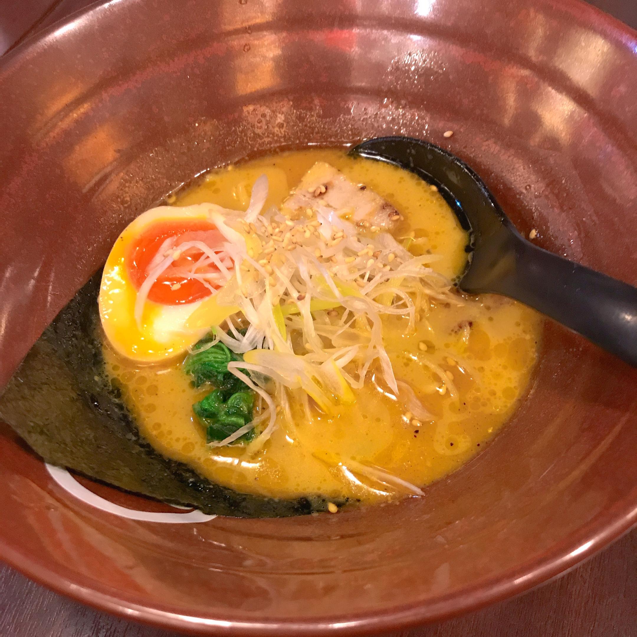 Curry ramen at Shuichi.