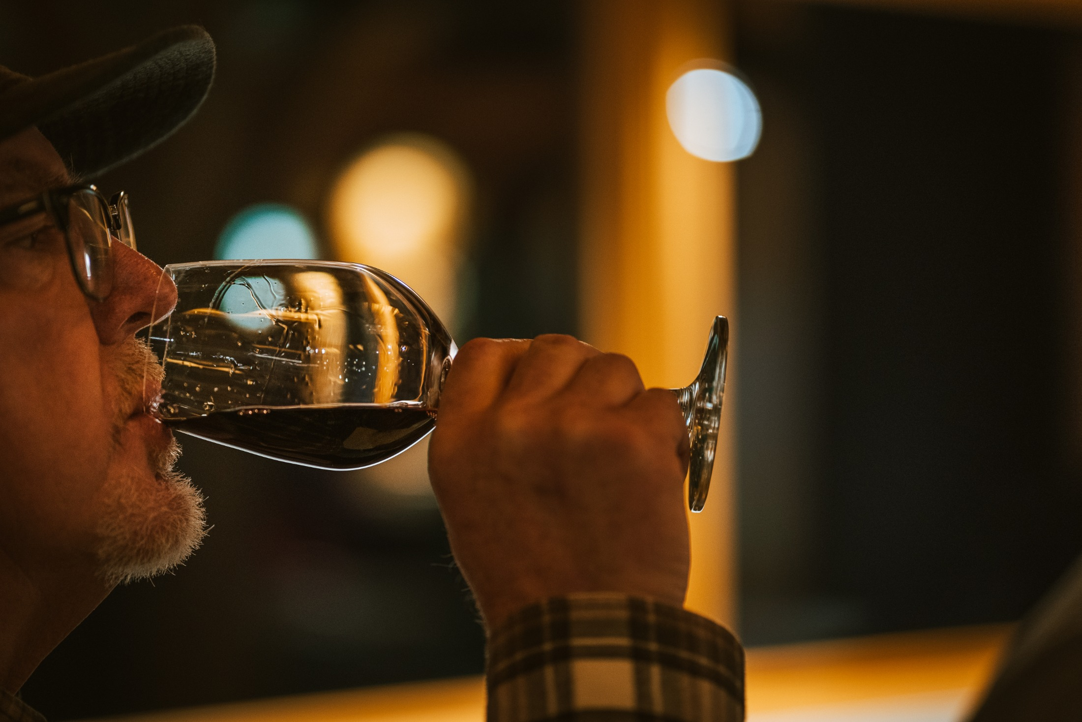 Wine tasting in the mid-station lodge at Sun Peaks. Photo by Kyle James/Oliver Osoyoos Wine Country.