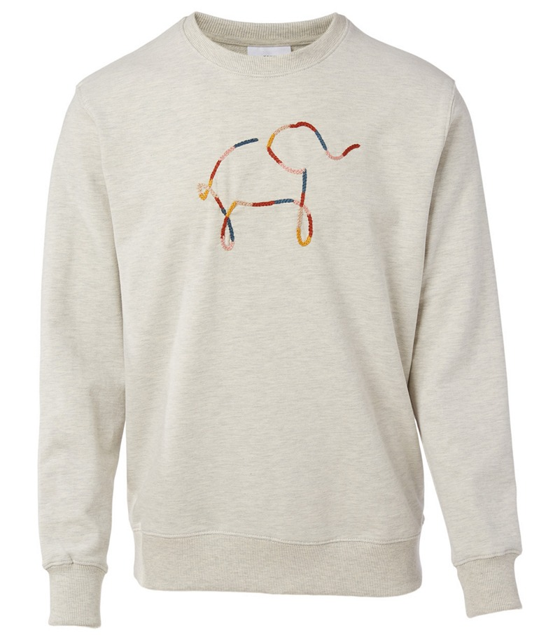 Knot On My Planet Cotton Sweatshirt