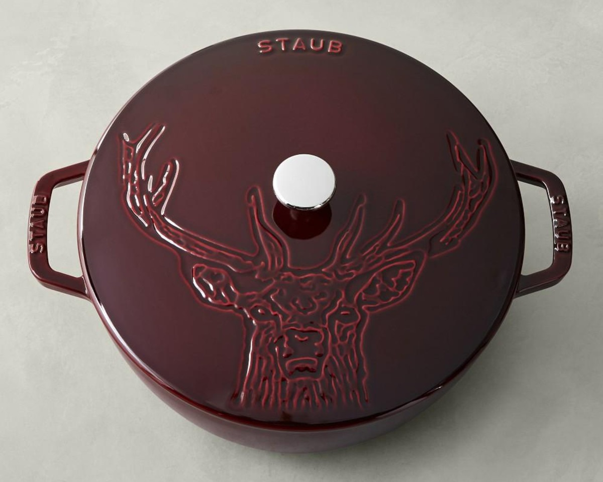 Staub Cast Iron Stag French Oven