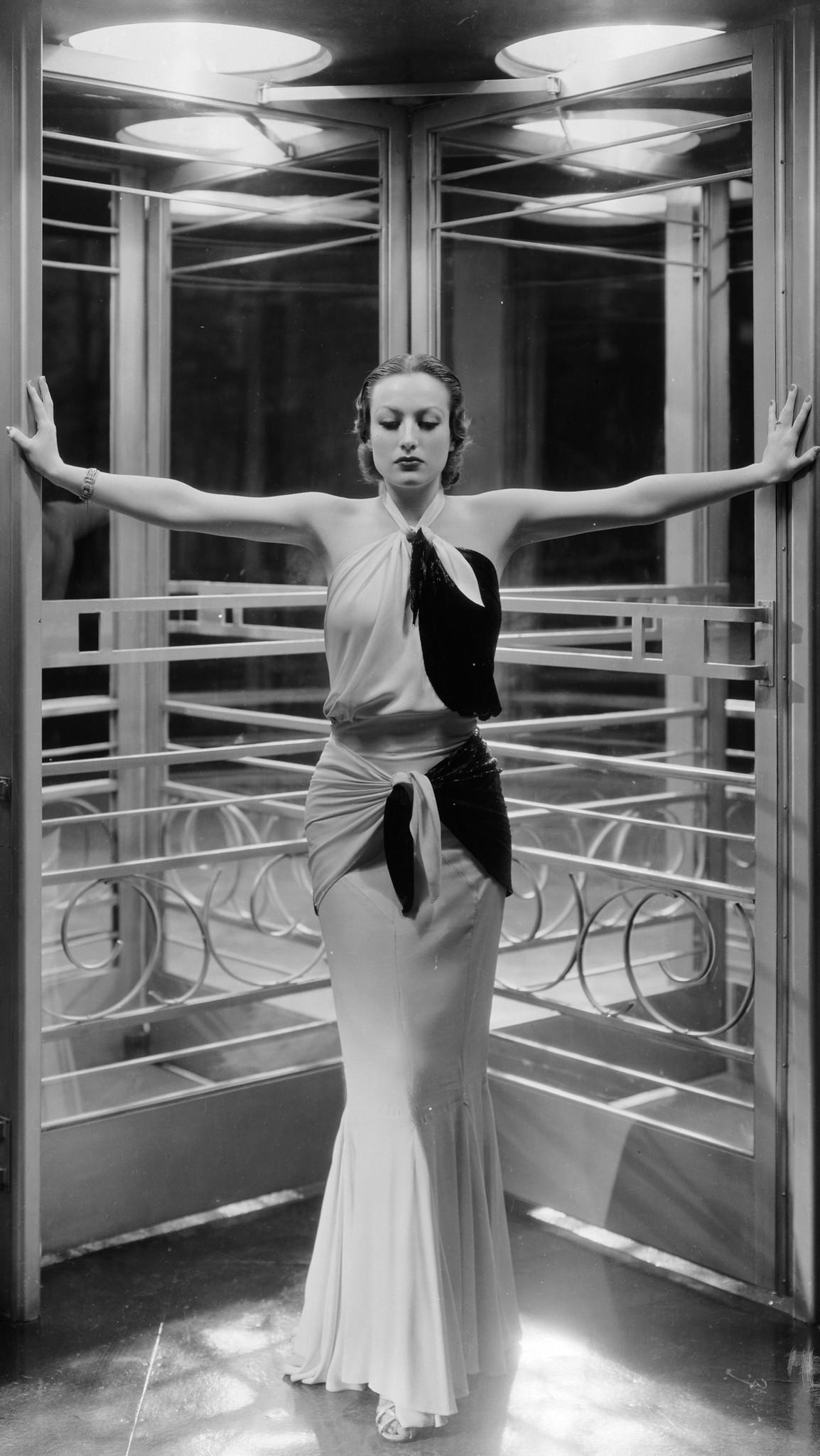 Actor Joan Crawford in Letty Lynton (1932)