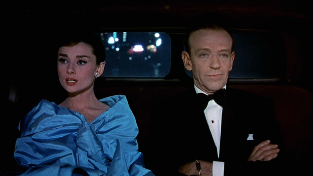 Audrey Hepburn (right) and Fred Astaire in Funny Face (1957).