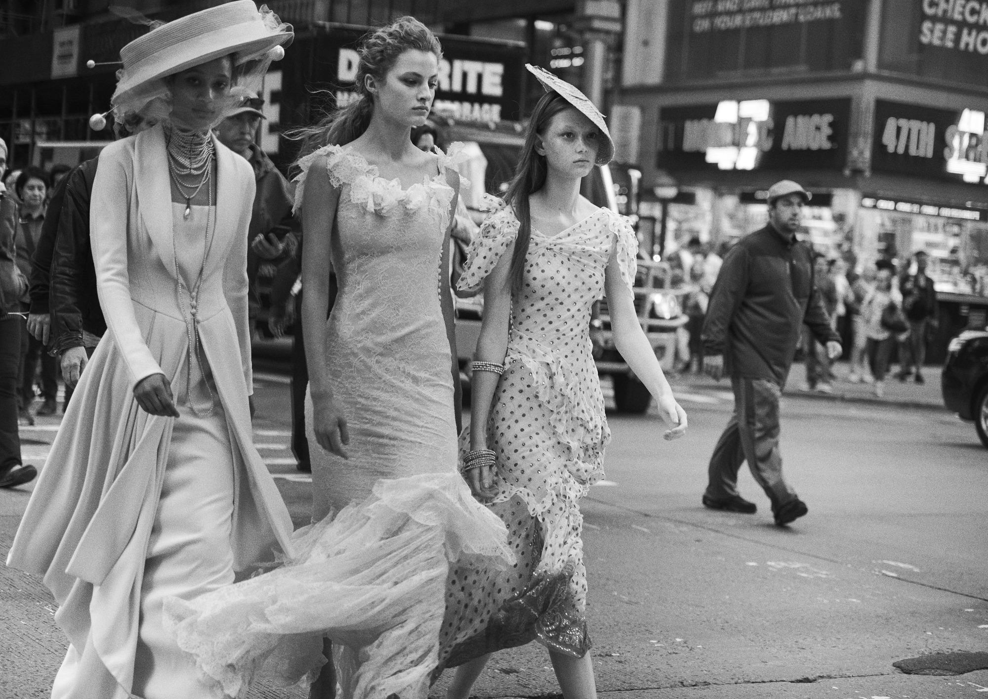 Selena Forrest, Felice Noordhoff, and Sara Grace Wallerstedt Dior Lindbergh