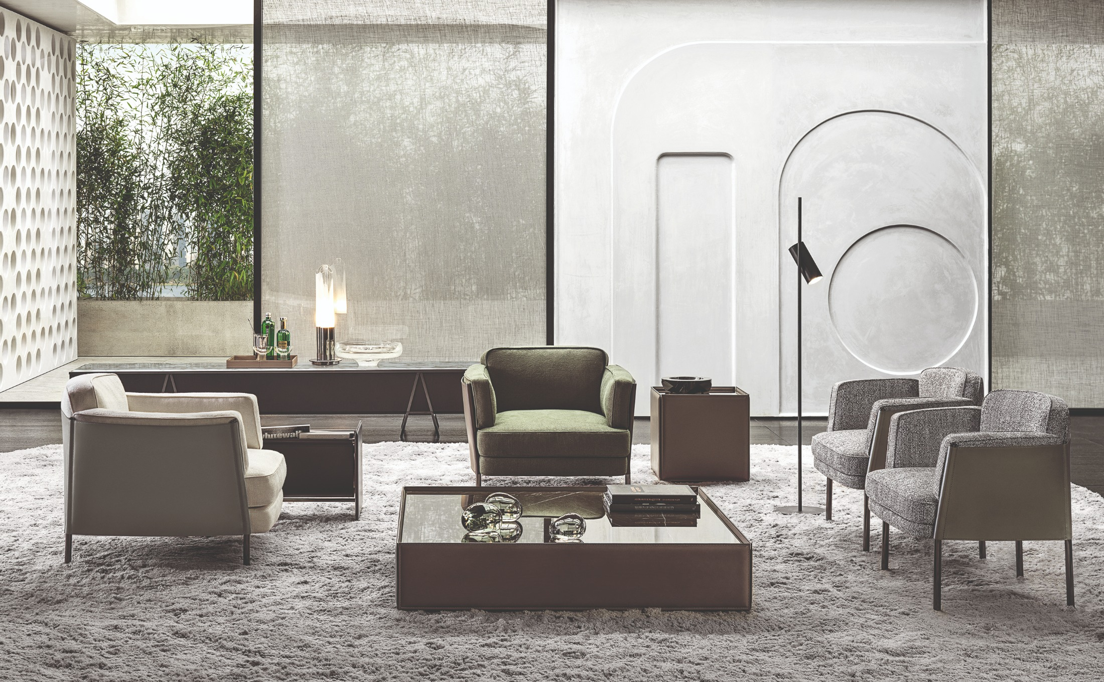 The Best Seat in the House with Minotti