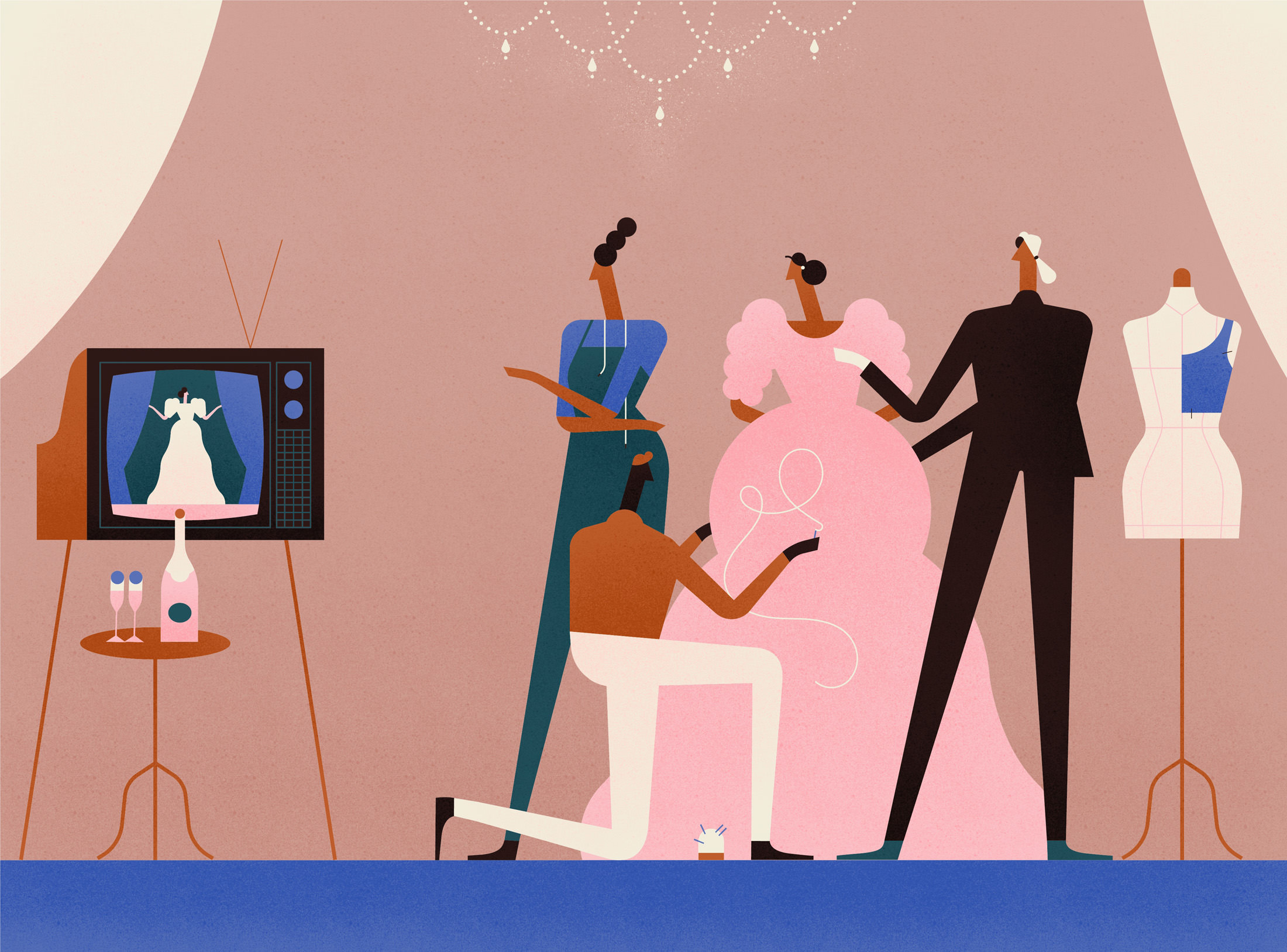 How Hollywood Shaped the World of High-Fashion