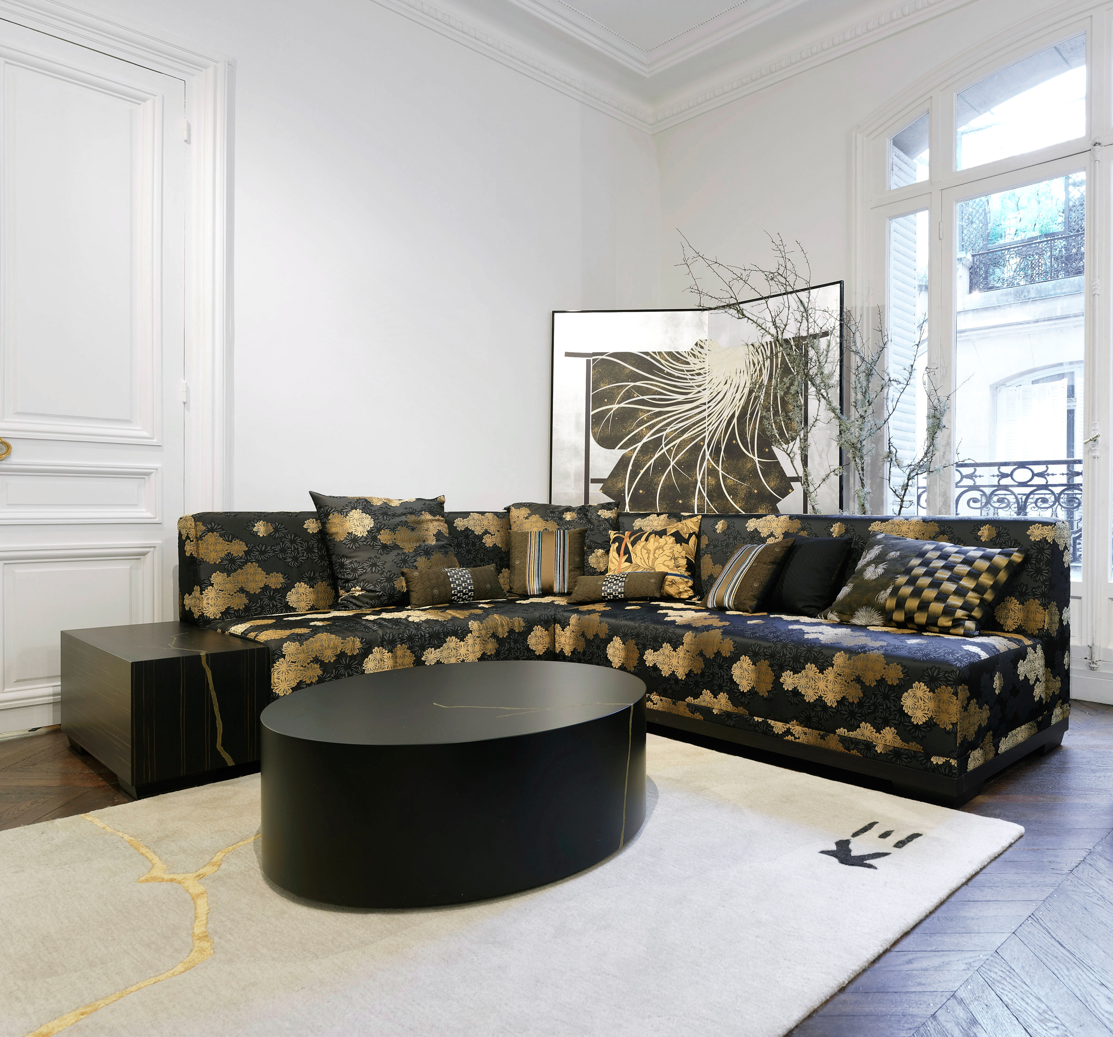 Kintsugi couch.