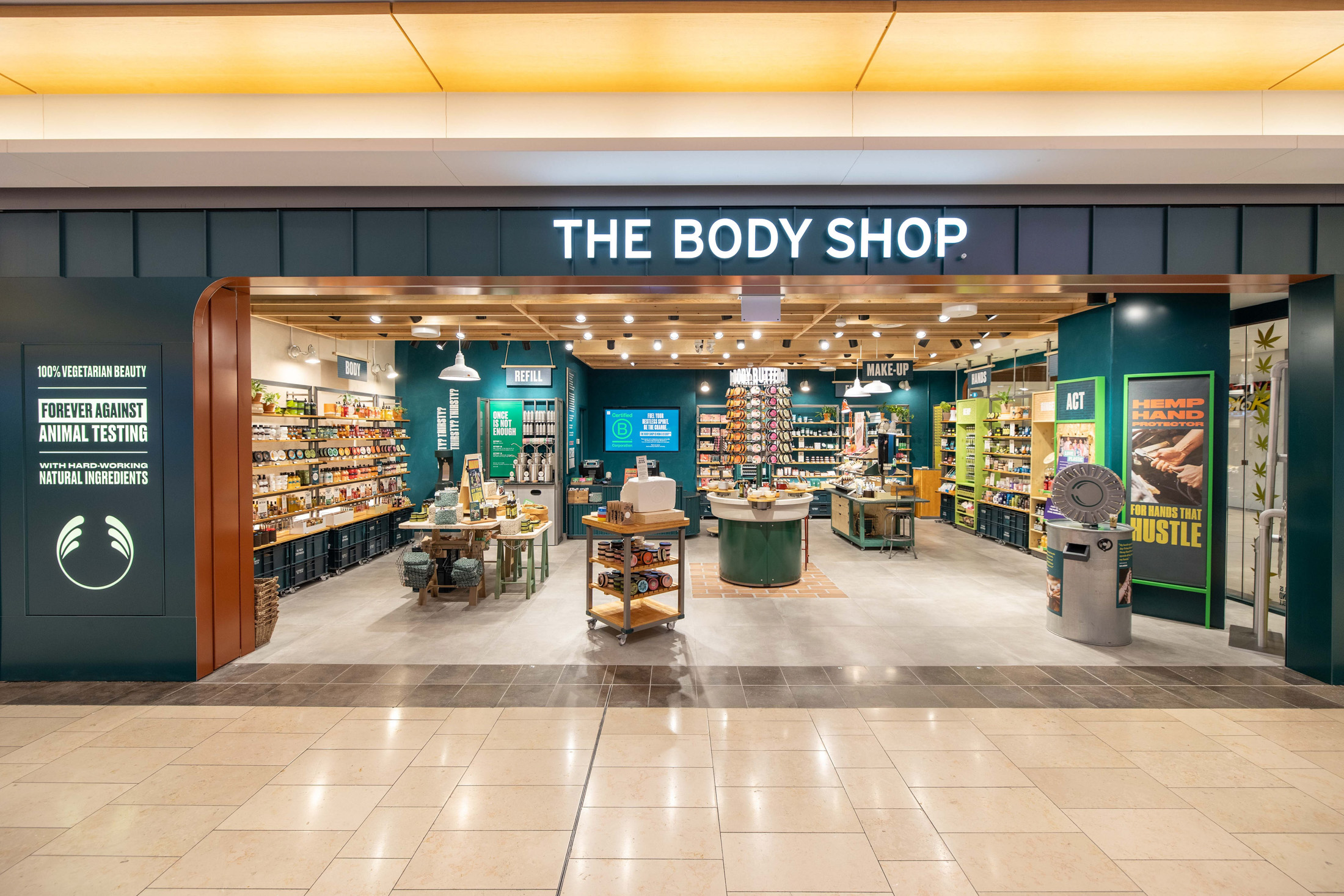 Body Shop concept store