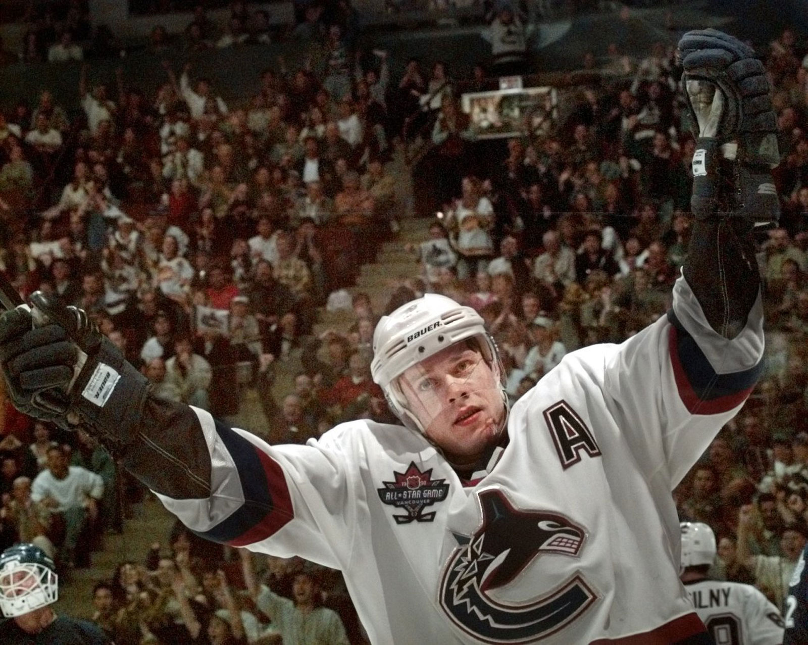 Canucks Pavel Bure.