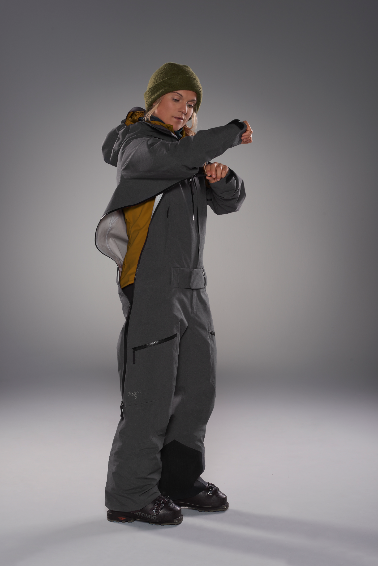Arc'teryx Incendia one-piece ski suit for women