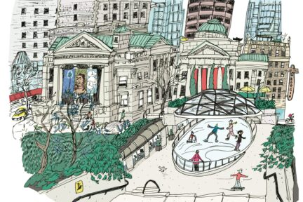 Emma FitzGerald Hand Drawn Vancouver