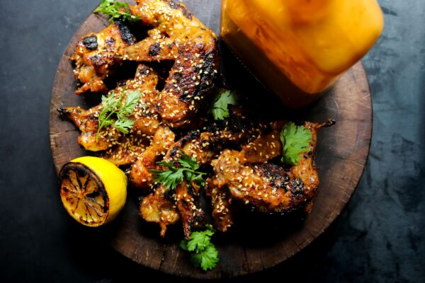 Tahini-glazed Grilled Chicken Wings From Vancouver's Juke Fried Chicken