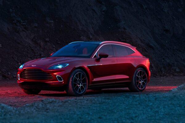 Aston Martin's Debut SUV Would Make James Bond Proud