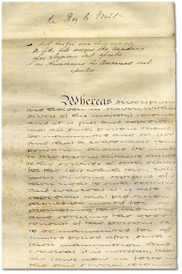 1833 British Imperial Act