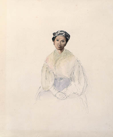 Painting of a Black Canadian, 1838
