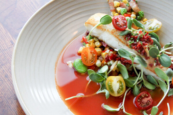 This East Vancouver Chef's Fresh Halibut and Corn Succotash Celebrates Summer