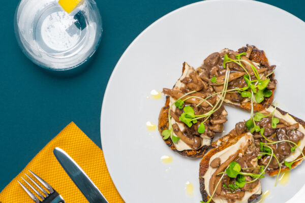 Make This Savoury Mushroom Toast From Vancouver's New Plant-Based Restaurant