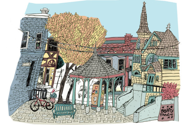 Canadian Cities Through a Sketch Artist's Eyes