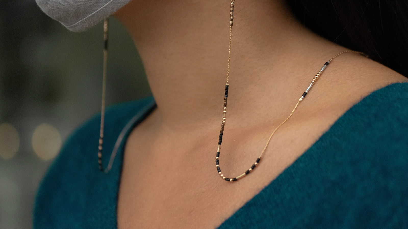 These Locally Made Mask Chains Support Single Mothers While Keeping Your Mask Safe