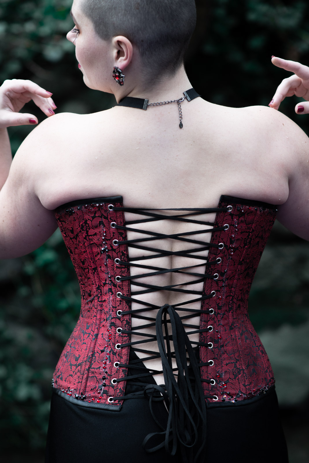 The Very Punk History of the Corset - cover