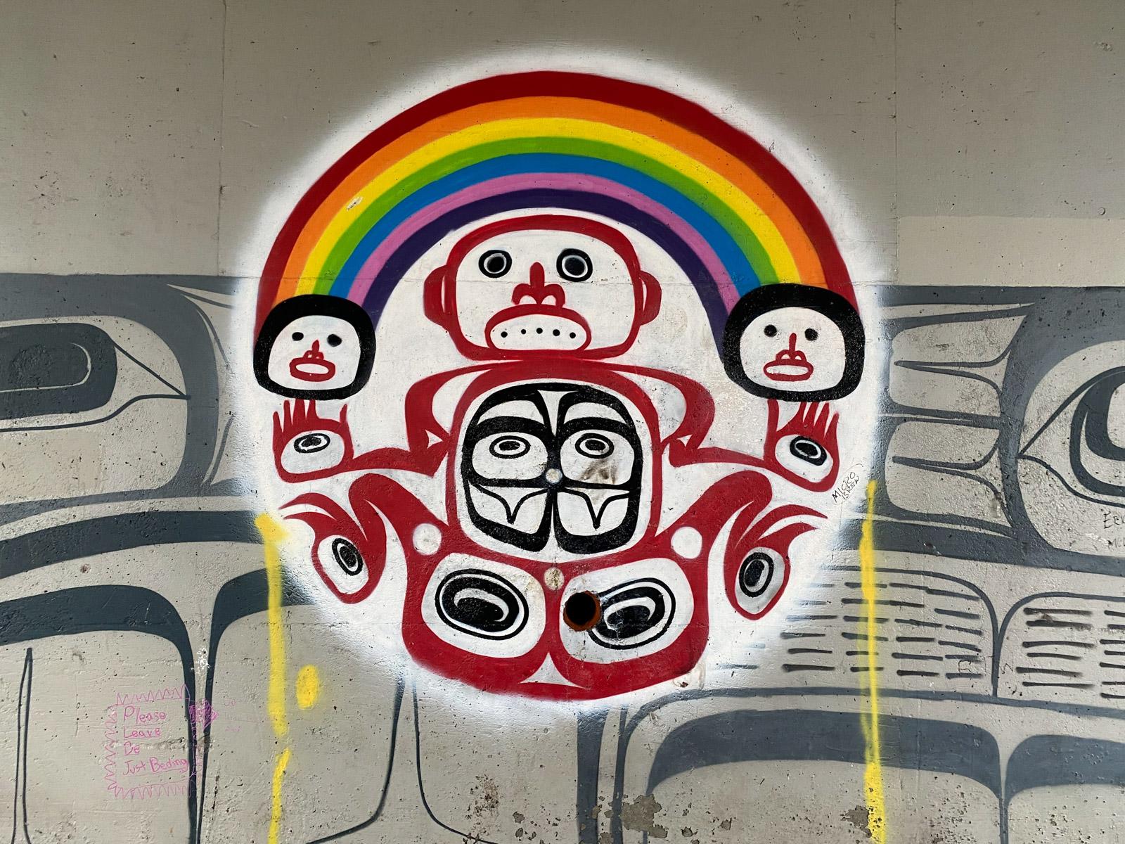Indigenous outdoor art Vancouver