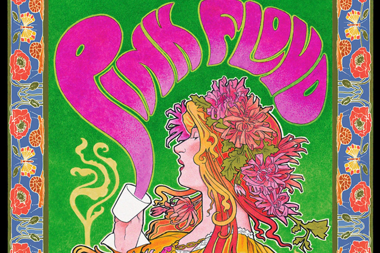 Meet the B.C. Artist Behind Some of the Grooviest Psychedelic Concert Posters Of All Time