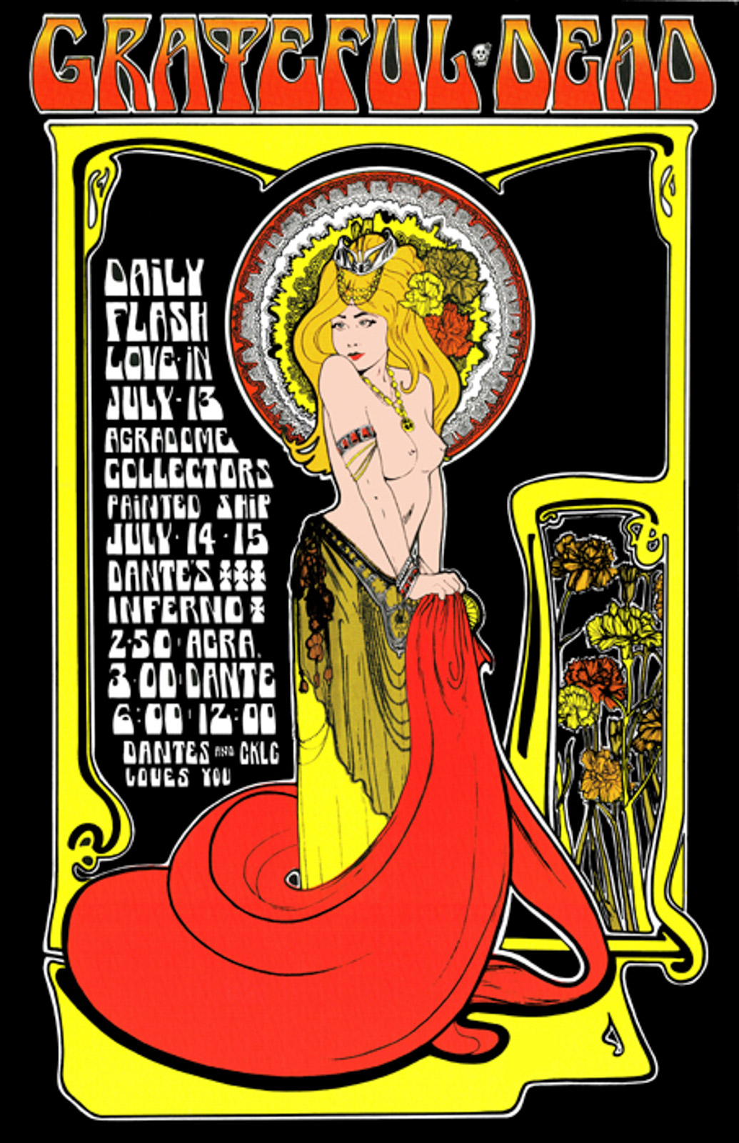The Canadian Artist Behind the Grooviest Psychedelic Concert Posters