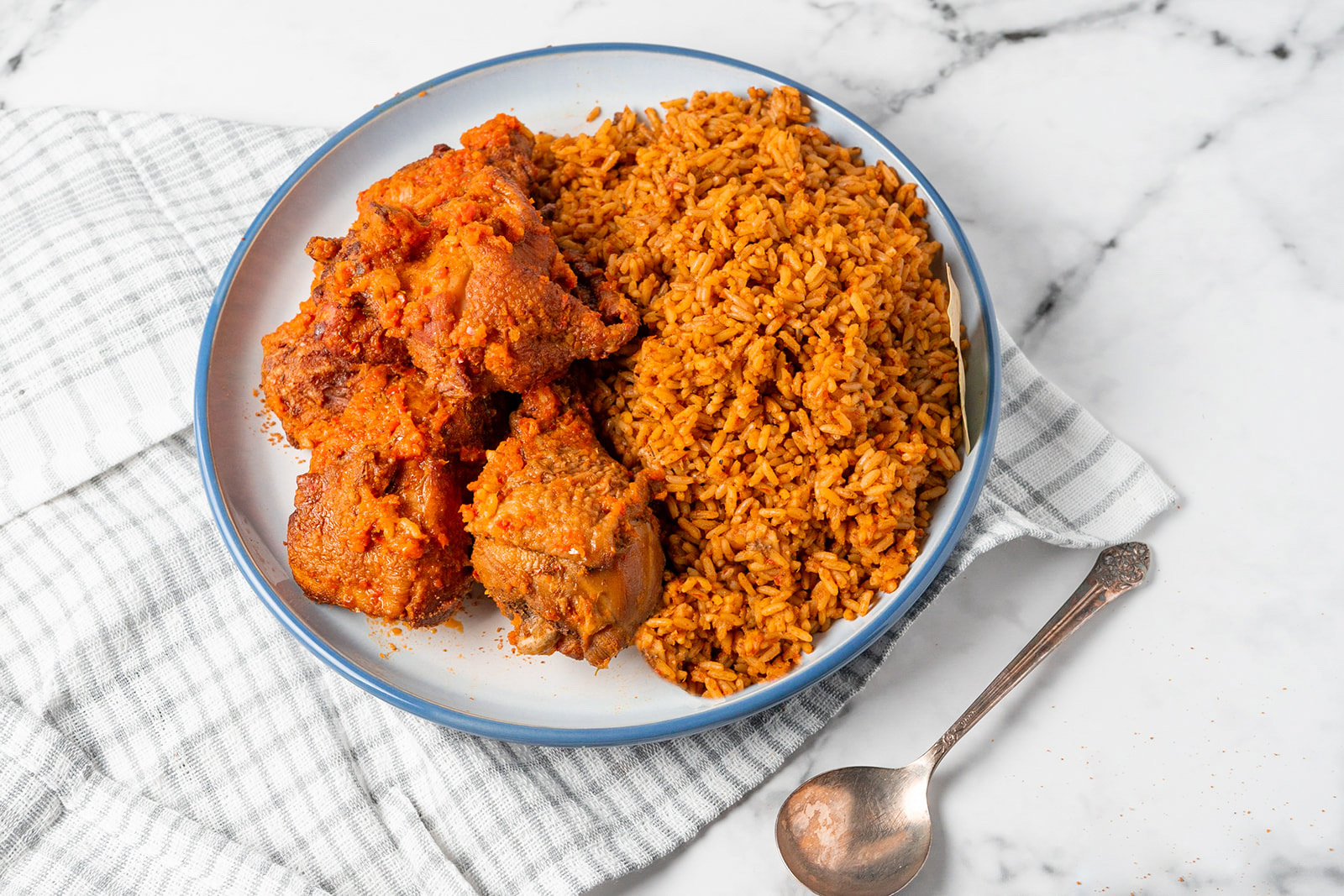 Jollof rice from VanSuya at Coho Commissary