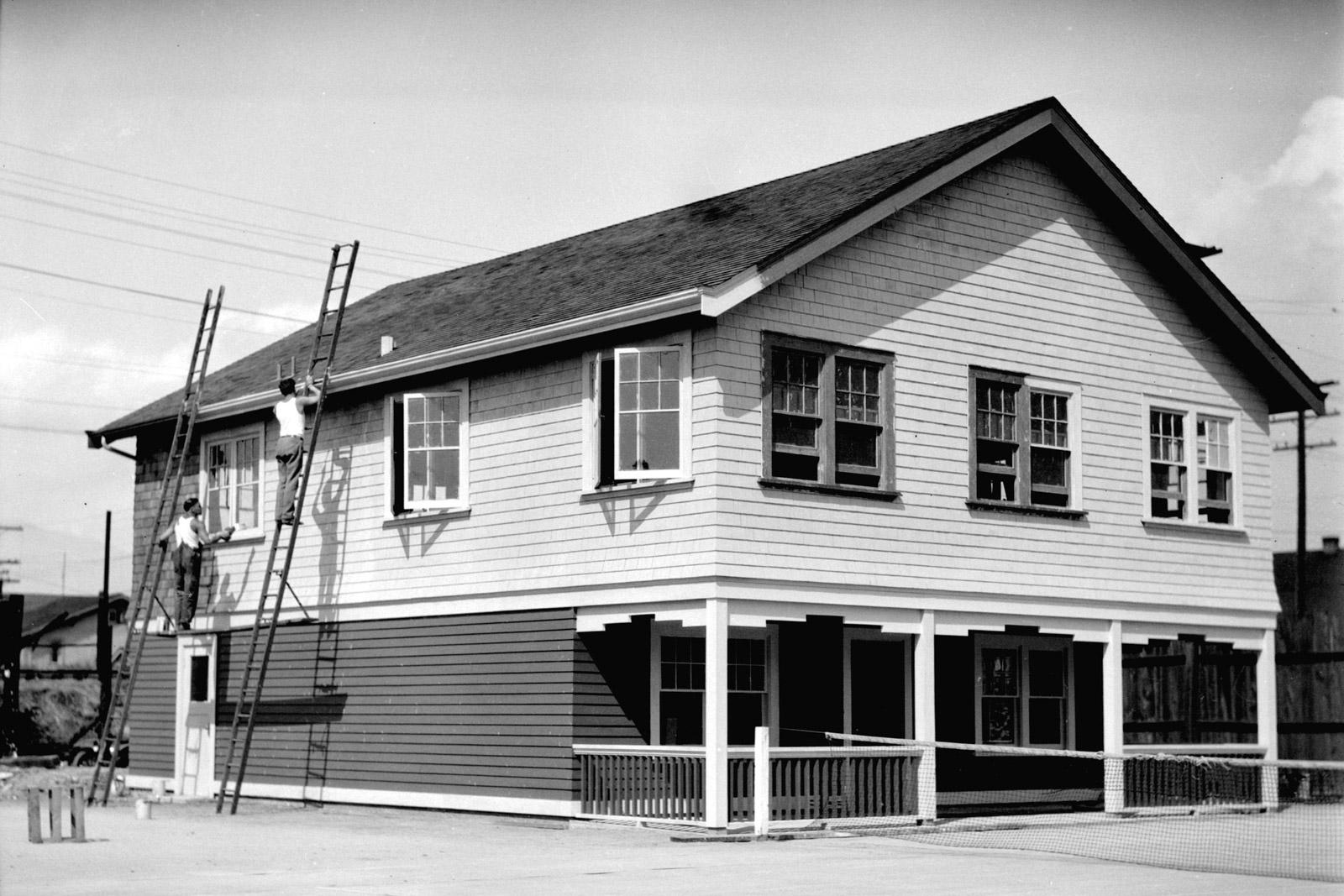Meraloma Club House in Kitsilano