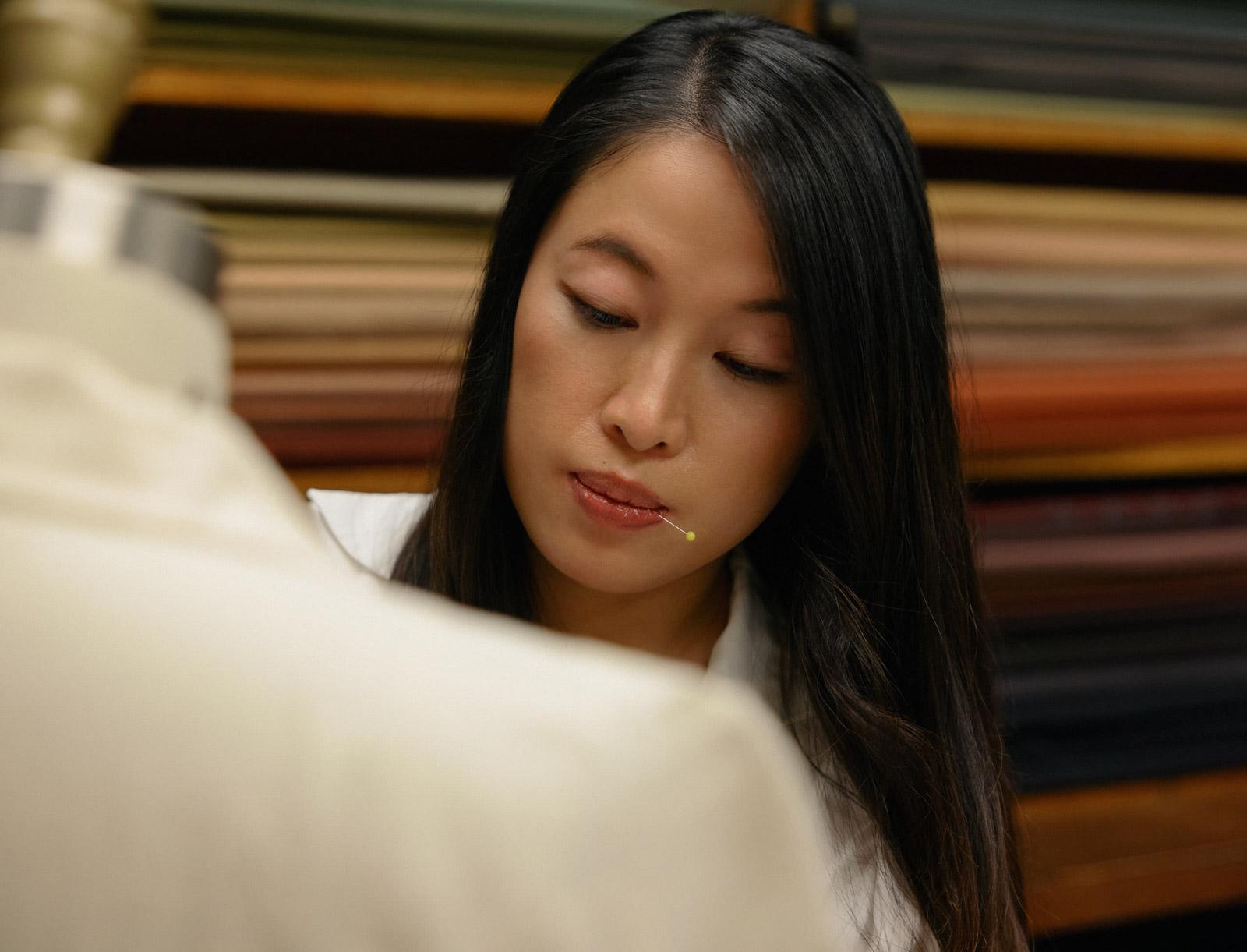Mia Wu at Modernize Tailors